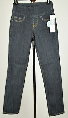 Jag Jeans Womens Late Night Straight Leg Pull On Stretch Jeans 0 4