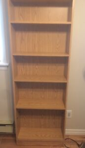 Tall Bookcase $20