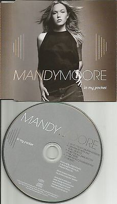 Mandy Moore In My Pocket Remixes W  I Wanna Live Australia Cd Single Usa Seller
