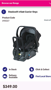 Steelcraft Infant Carrier Onyx Capsule Maida Vale Kalamunda Area Preview