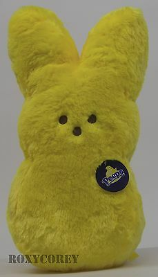 Peeps Bunny Shaggy Yellow - 15""