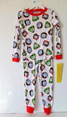 TODDLER BOYS THOMAS THE TRAIN PAJAMAS SIZE 5T - Toddler Train Pajamas