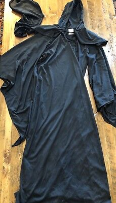 Child's Grim Reaper Costume Size Medium Death Horror Robe Spirit Halloween 00570