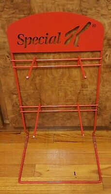 Red Special K 4 Armed Metal Display Rack