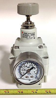 Smc Precision Regulator W Guage 12 Thread 14 Thread Ir3020-n02g