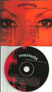 ANASTACIA-Welcome-to-my-truth-EUROPE-made-PROMO-DJ-CD-single-2004-USA-SELLER