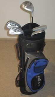 Set of Cougar X-Cat Junior golf clubs Kearns Campbelltown Area Preview
