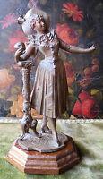 050832 Una Graziosa Statuina Liberty Di Pierrette. Italia Fine 800 -  - ebay.it