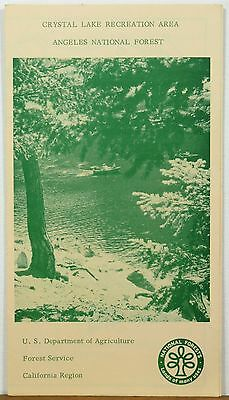 early 1960's Crystal Lake Recreation Area Angels National  Forest California b