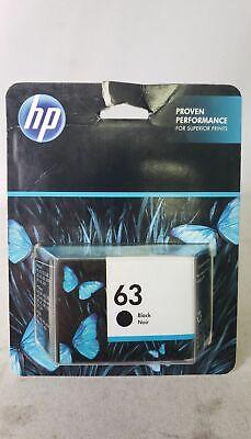 New Genuine HP 63 Black Original Ink Cartridge - F6U62AN