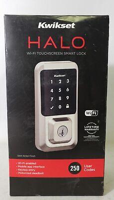 Kwikset Halo WiFi Touchscreen Electronic Smart Lock Deadbolt