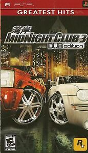 Midnight Club 3 - DUB Edition (PSP)