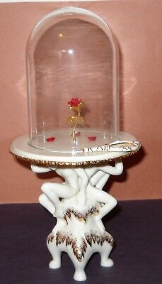 LENOX DISNEY SHOWCASE  BEAUTY and the BEAST ENCHANTED ROSE MINT ()