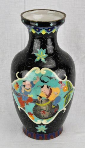 "Chinese vintage Porcelain Cloisonné Enamel Vase 14 ½"" tall. (BI#MK/180714)"