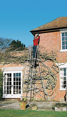 Henchman Maxi Hi-Steps Aluminium Garden Platform Ladder - Ideal Hedge Cutting