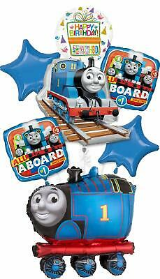 Thomas the Train Party Supplies Birthday Balloon Buddies Tank Engine Balloon ...