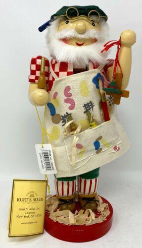 Kurt Adler Gepetto At Work Nutcracker 1999 Pinocchio Puppet Toy Nanette Hilton