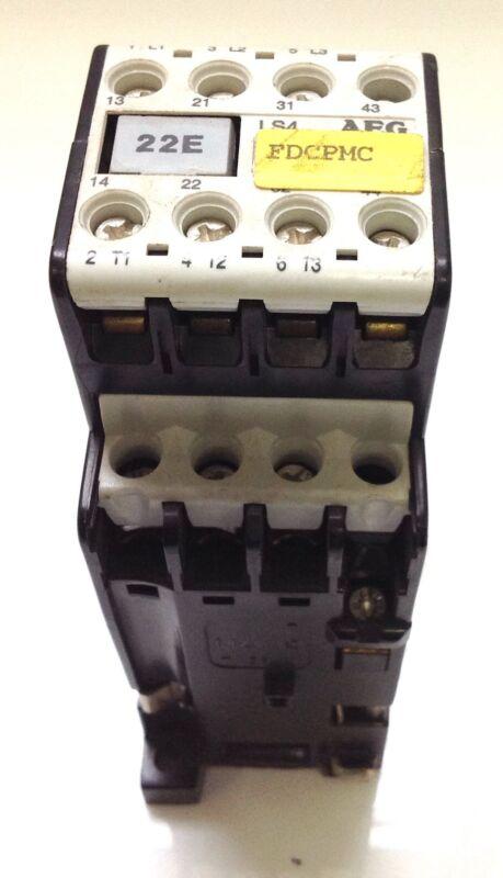 AEG LS4 24VDC COIL 20A 600VAC CONTACTOR  910-302-731-0