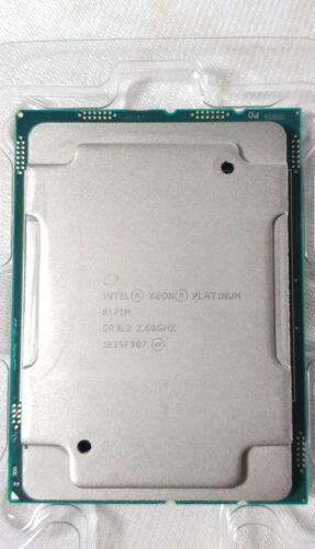 Intel Xeon Platinum 8171M 26-Core 2.60GHZ 35.75M CPU Processor SR3LZ