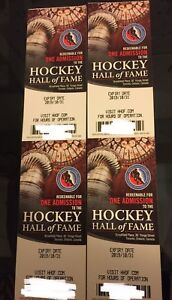 Hockey Hall of Fame tickets