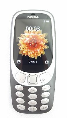 Nokia 3310 3G 32MB Unlocked Cell Phone Charcoal TA-1036