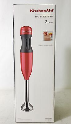 KitchenAid 2 Speed Hand Blender Red