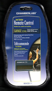 CHAMBERLAIN 950CD SINGLE BUTTON REMOTE SUB 950D 956D 953D 963D 955D  940D  940CD