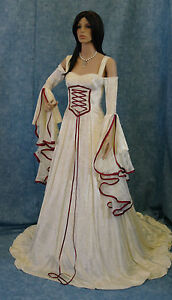 Handfasting-medieval-wedding-dress-LOTR-Renaissance-fantasy-gown-custom-made