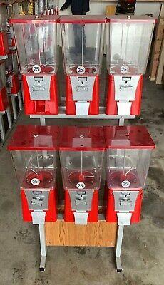 6 Head Eagle Vending Rack - Gumball - Bulk Candy Machine