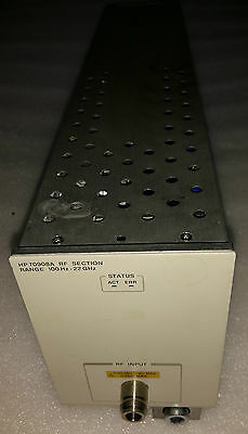 Keysight Agilent Hp 70908a Rf Section 100 Khz To 22 Ghz Plug In Module