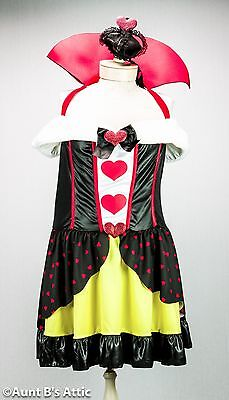 Queen Of Hearts Sexy Plus Size 2 Pc. Faux Fur Trimmed Halter Dress & Hat 1x-2x   - Queen Of Hearts Plus Size Costumes