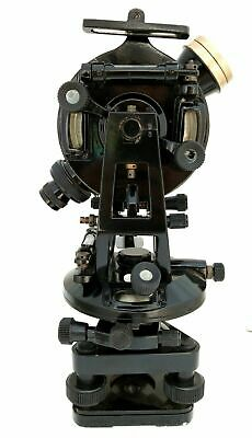 Antique Brass Theodolite-transit Surveyors Alidade Vintage Surveying Instruments