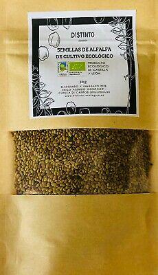 Medicago sativa. semilla de alfalfa ecologica 450g. (9 paquetes) envío gratuito