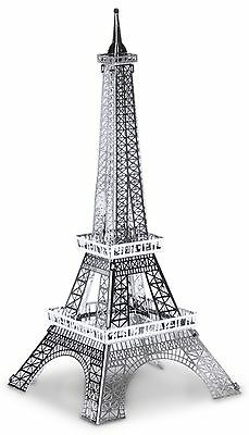 Eiffelturm 13 Teile 3D-Metall-Bausatz Silver-Edition Metal Earth 1016