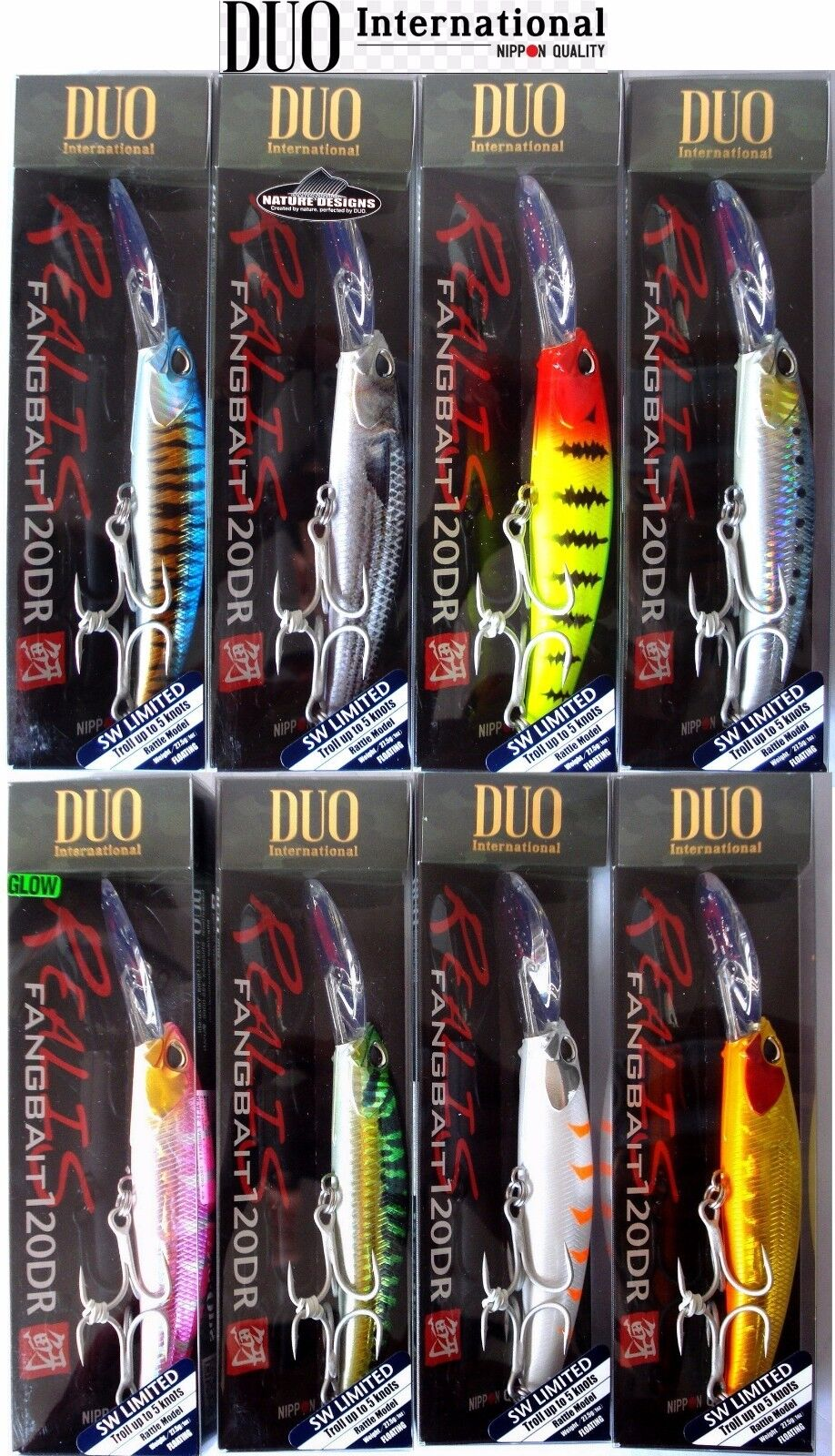 DUO Realis Fangbait 120 SR 120mm 25,8g floating lure for Papuan Bass