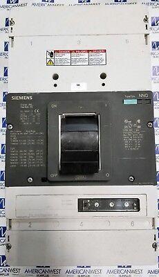 Siemens Vl Series Nng Nnx3p120 3p 1200a Lsi Functions 545 Trip 35k480v Tested
