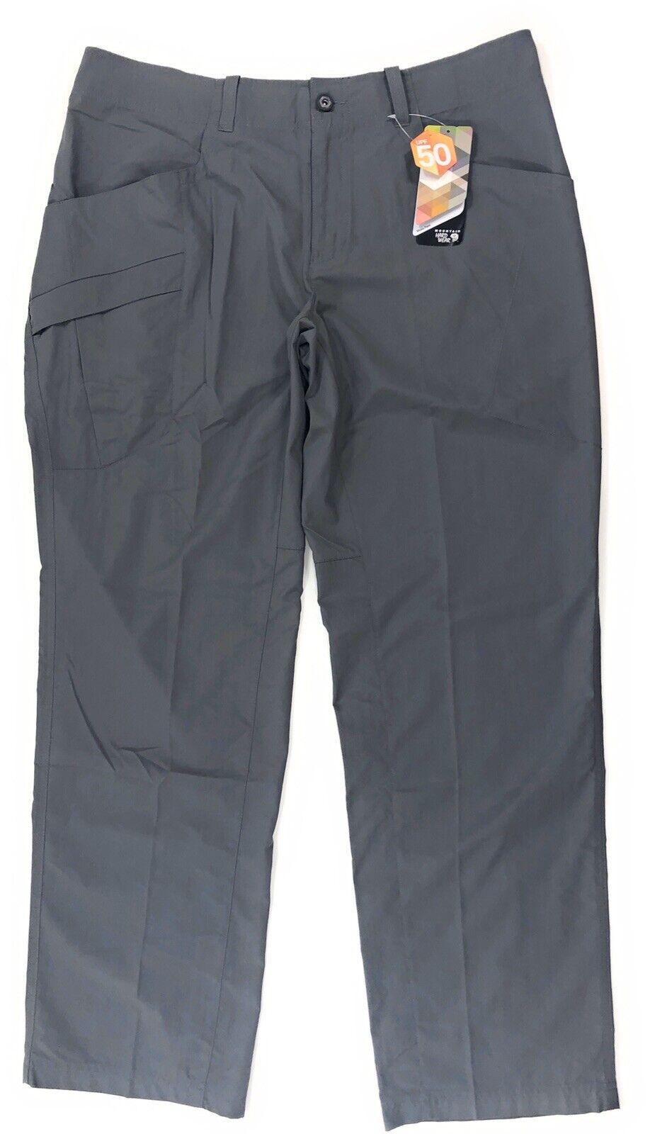 Mountain Hardwear Mesa Pants V2 Mens 36x32 Outdoor Hiking Cl