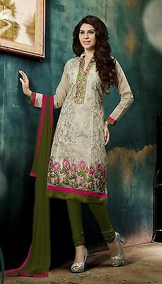 Indian Pakistani Bollywood Designer Ethnic Salwar Kameez Suit Party Wear Dress