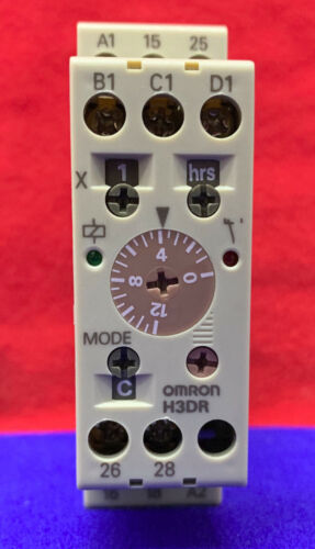 OMRON H3DR / H3DR-A SOLID STATE TIMER RELAY