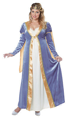 Elegant Empress Royal Queen Adult Plus Size Costume - Plus Size Renaissance Costume