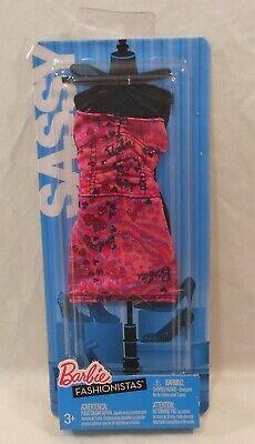 NEW BARBIE FASHIONISTAS DRESS SASSY