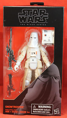 "Star Wars 6"" Action Figure Black Series - #35 Snowtrooper"