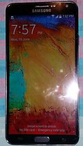 Samsung Note 3 32gb Black Unlocked Christies Beach Morphett Vale Area Preview