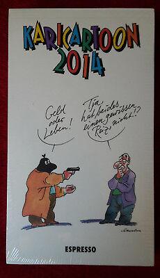 KARICARTOON 2014 Kalender - 365 Cartoons von 80 Zeichner/Innen - Neu&OVP  ()