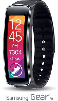 Openbox Samsung SM-R350 Black Galaxy Gear Fit Activity Tracker HR Monitor.