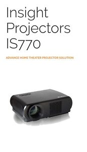 Insight IS770 Android smart Projector