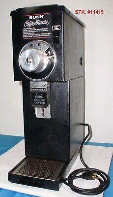 Bunn G1 Hd Blk 22104.0000 Commercial Bulk Coffee Grinder Clean