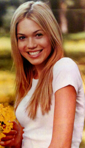 "MANDY MOORE poster. 34x22""  Vintage. Rare hard to find."