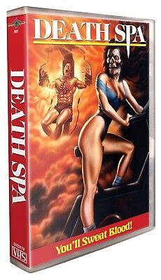 Death Spa - VHS Clamshell - Gorgon Video - Brand New!