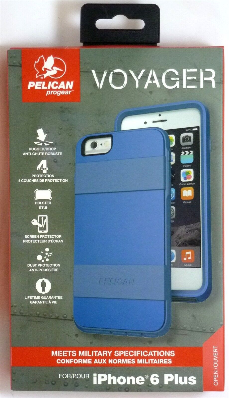 Pelican ProGear Voyager Phone Case + Kickstand for Apple iPh